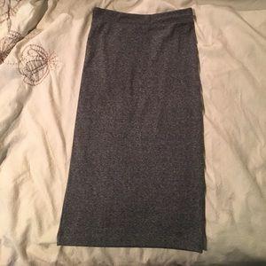 Grey H&M  bodycon skirt size xs